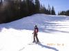 Um pouco de exercício na neve